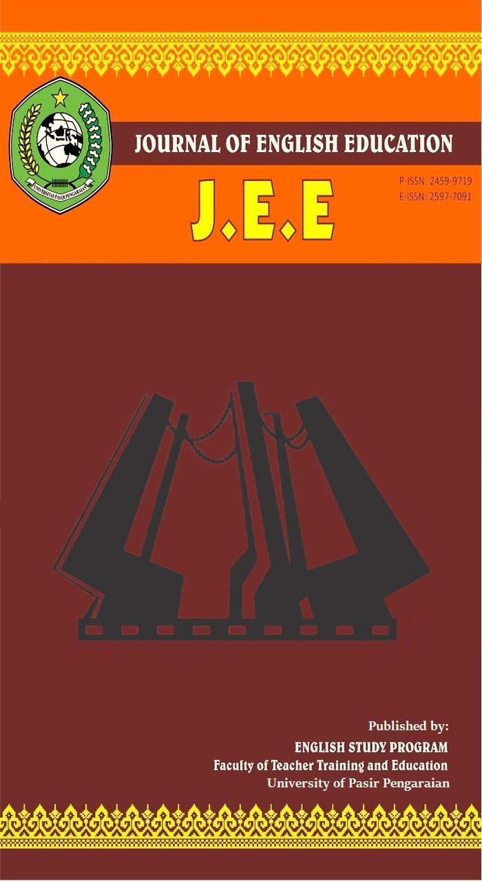 View Vol. 5 No. 2 (2019): JEE (Journal of English Education)