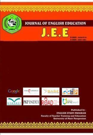 View Vol. 7 No. 2 (2021): JEE (Journal of English Education)
