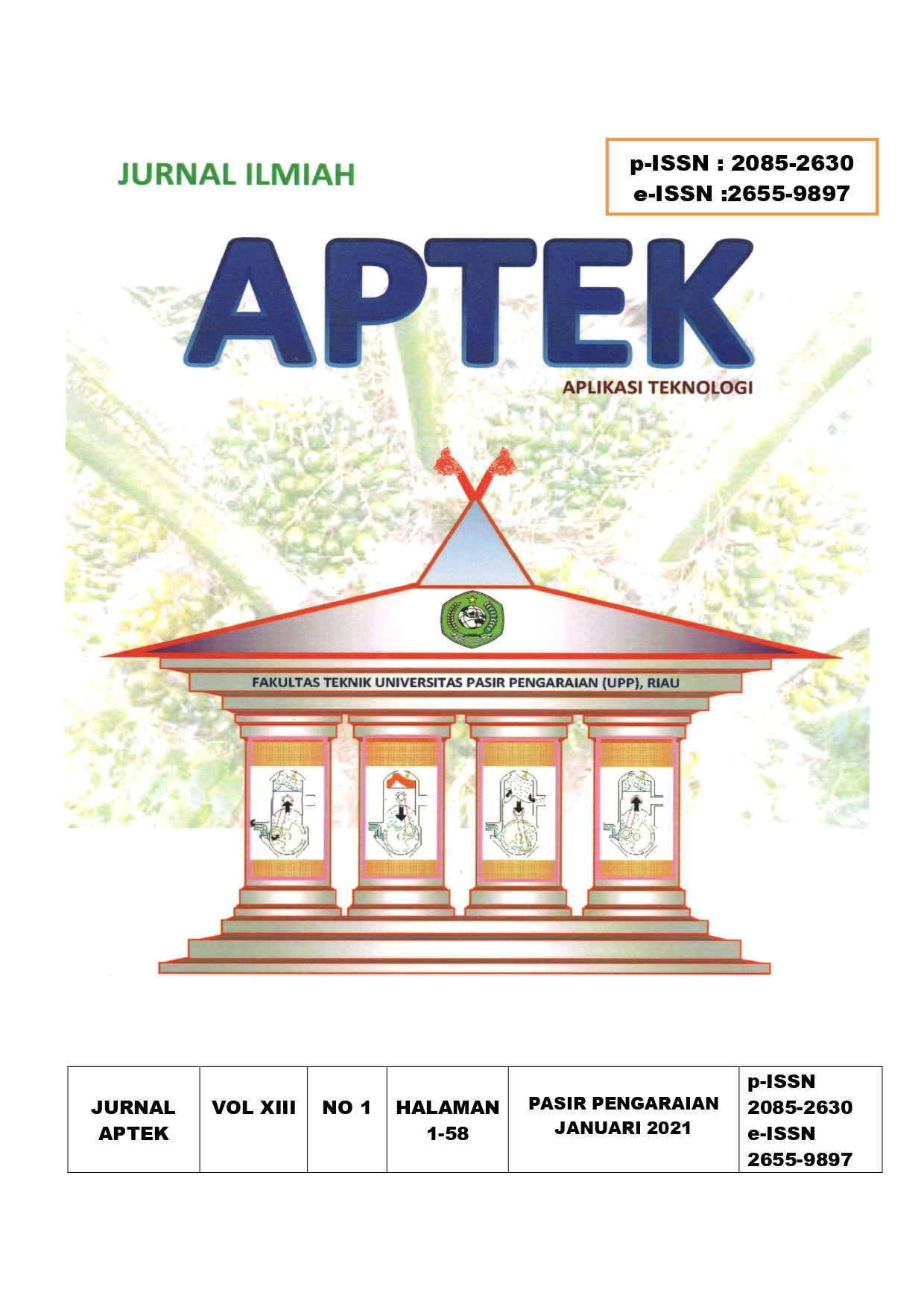 View Vol. 13 No. 1 (2021): Jurnal APTEK Edisi XIII No 1 2021